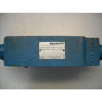 Rexroth Japan Germany Z 2 FS 22-31/S2/V Flow Control Valve