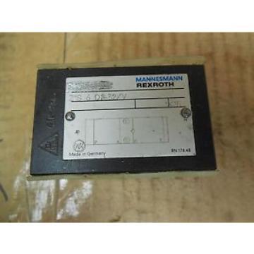 Rexroth France Dutch Mannesmann Manifold Block Valve Z1S 6 D2-32/V Z1S6D232V New