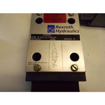 Rexroth Germany Japan 4WRE10E64-14/24Z4/M Hydraulic Proportional Valve D05