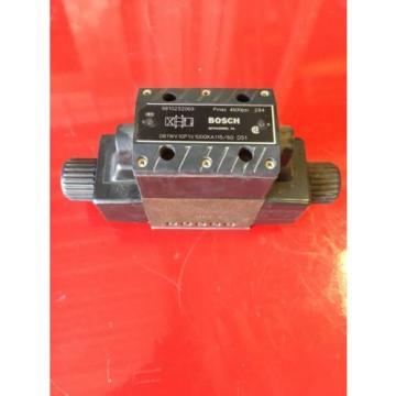 Bosch Egypt Dutch Hydraulic Valve Model O81WV10P1V1000KA115/60  9810232069