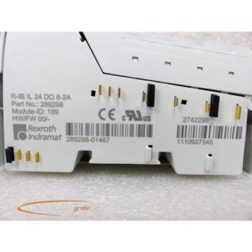 Rexroth France Australia Indramat R-IB IL 24 DO 8-2A Modul 289298 > ungebraucht! <