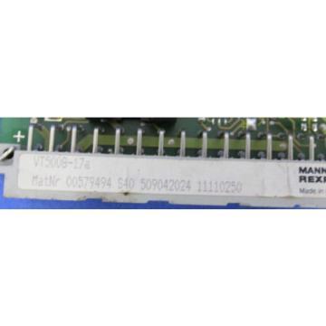 MANNESMANN Russia Egypt REXROTH VT5008-17A