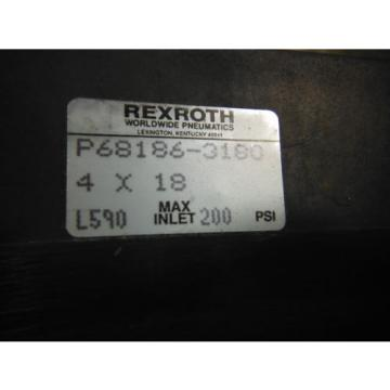 """WABCO Dutch Germany REXROTH CYLINDER P68186-3180 ( 4"""" BORE) ~ New in box"""
