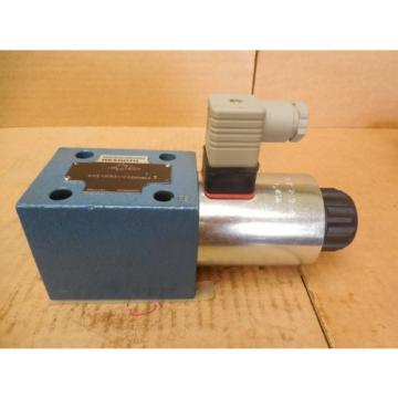 Mannesmann Canada Japan Rexroth Hydraulic Valve 4WE10EB31/CG24N9K4 4WE10EB31CG24N9K4 New