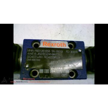 REXROTH Korea china 4WE 6 J62/EG24N9K72L WITH ATTACHED PART NUMBER R901207248, NEW* #167170