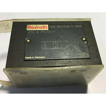 Rexroth China India Z1S 6 P1-33V Hydraulic Check Valve
