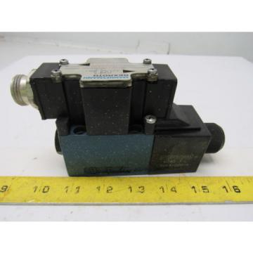 Mannesmann Singapore Australia Rexroth 4WE6D61/EW110N Solenoid Operated Directional Valve