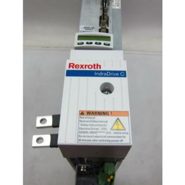 REXROTH Italy India HCS02.1E-W0028-A-03-NNNN IndraDrive C SERVO DRIVE SERCOS INTERFACE