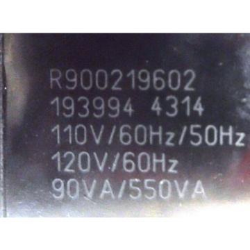 REXROTH, Egypt Australia DIRECTRIONAL HYDRAULIC VALVE, MOD. R978908567, SER. 1849960, R900219602