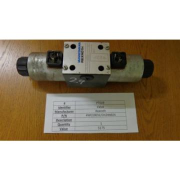 Rexroth China Japan Hydraulic Solenoid Valve 4WE10031/CH24N924 PT029