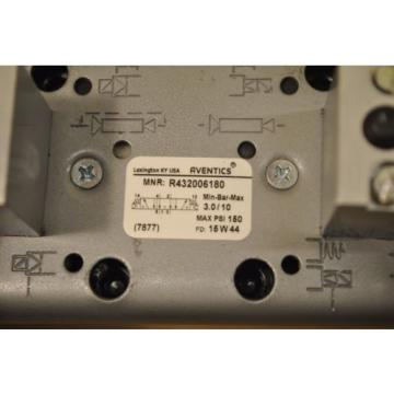 Aventics Germany Korea Rexroth R432006180 Ceramic Valve Size 3