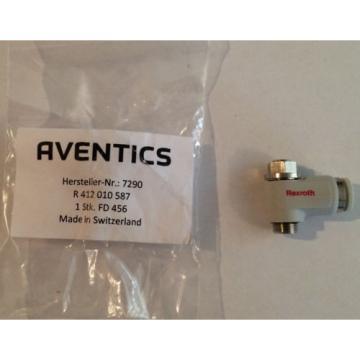 AVENTICS Russia Japan REXROTH CC02 Tube Check Choke Valve R412010587