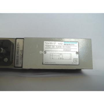 Mannemann Dutch Italy Rexroth HSZ 06 A608-31/M00 X08269 Hydraulic Valve with HED 8 0H 11/350