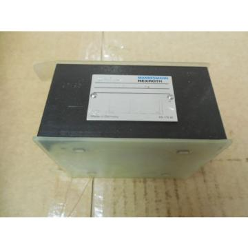 Rexroth Greece Dutch Mannesmann Manifold Solenoid Block Valve Z1S 10 P2-32/V New
