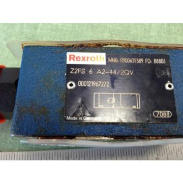 REXROTH Greece Italy HYDRAULIC CHECK VALVE  Z2FS 6-A2-44/2QV R900439389 FD 88806