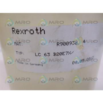 REXROTH China Japan R900938064 LC63B20E7X *NEW NO BOX*