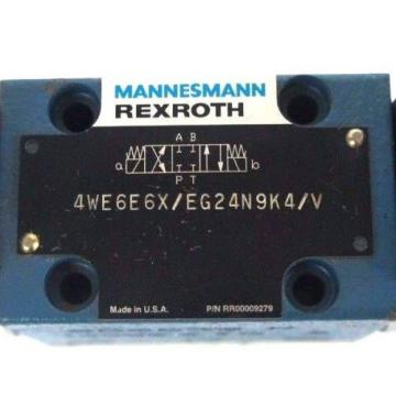 NEW China china MANNESMANN REXROTH 4WE6E6X/EG24N9K4/V CONTROL VALVE RR00009279