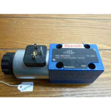 Bosch France Russia Rexroth R900738483 4WE 6 D62/EG24K4 SO293 Valve w/ R900221884 Solenoid 24V