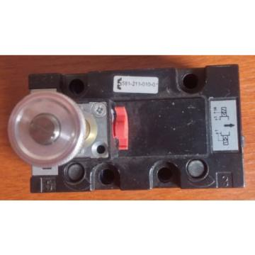 NEW! Dutch Singapore Rexroth Mecman  VALVE 581-211-010-0 581211010