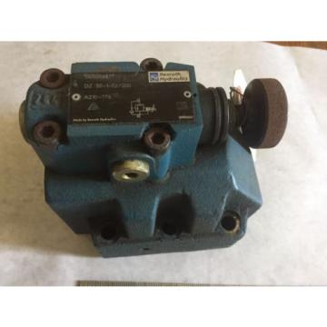 NEW Dutch Russia REXROTH DZ 30-1-52/200 HYDRAULIC VALVE 00500687 REXROTH A210-276