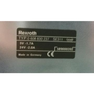 BOSCH France Dutch REXROTH 0 608 830 237 / 0608830237, SE 311