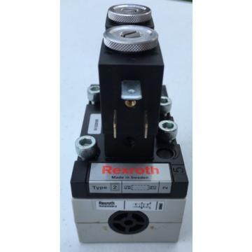 5812220300 Australia Australia 581-222-030-0 Rexroth Air Valve 5/2 Double Solenoid 110VAC ISO2