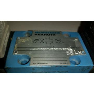 Rexroth Korea USA 4WE6E60/EG24N9Z 55LV Directional Control Valve RR00880060 Spool Type E