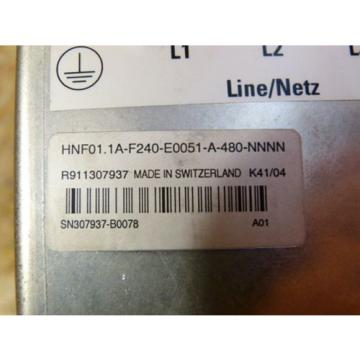 Rexroth Italy Singapore HNF01.1A-F240-E0051-A-480-NNNN IndraDrive C Netzfilter