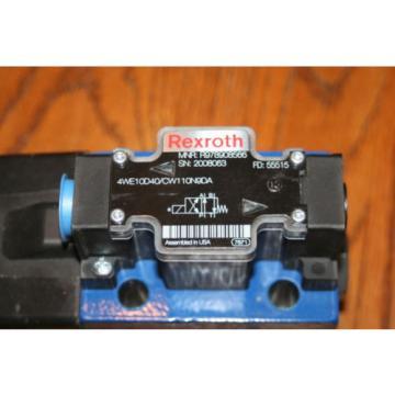 Rexroth Canada Canada Bosch Group MNR R978908566 Solenoid Valve 4WE10DA40/CW110N9DA  NEW