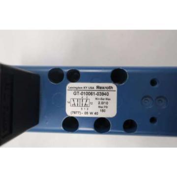 NEW France china REXROTH GT-010061-03940 PNEUMATIC VALVE BODY D528199
