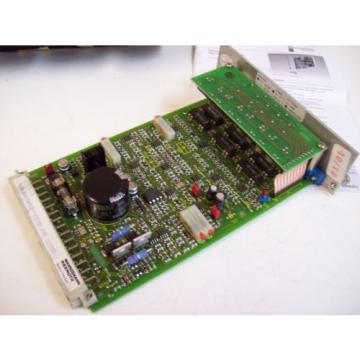 MANNESMANN India Mexico REXROTH VT5008-17B AMPLIFIER CARD W/MULTIPLE COMPONENTS - FREE SHIP