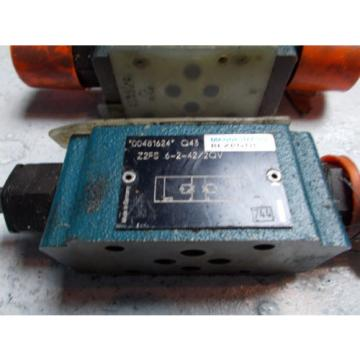 Rexroth China Singapore Z2FS-6-2-42/2QV Hydraulic Dual Flow Control Valve D03