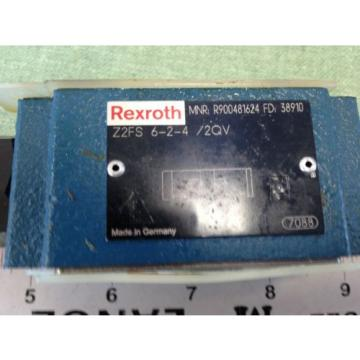 REXROTH Greece Dutch HYDRAULIC CHECK VALVE  Z2FS 6-2-4/2QV MNR R900481624 FD 38910