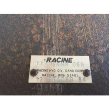 NEW USA Mexico RACINE FF1-SHMM-06H REXROTH HYDRAULIC CHECK VALVE FF1 SHMM 06H 12 975090 84