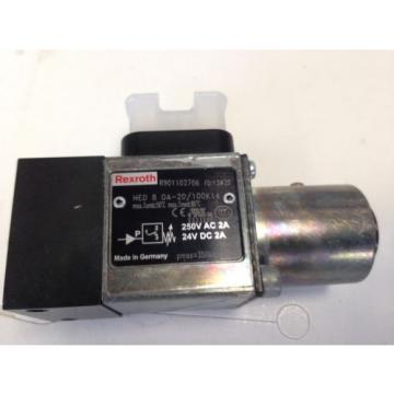 NEW Greece Japan REXROTH HED 8 0A-20/100K14,R901102706  HYDRO-ELECTRIC PRESSURE SWITCH FB