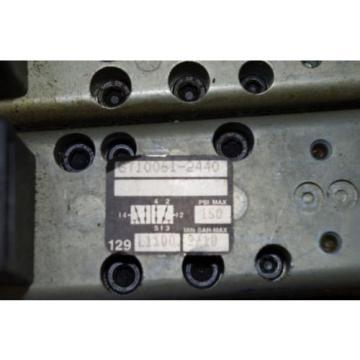 Rexroth Australia Singapore Ceram 6-Valve Air Control Manifold GT10061-2440 GT10032-2626