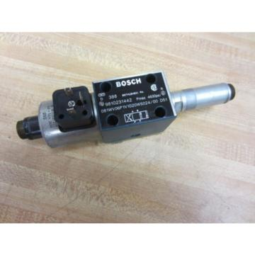 Rexroth Korea France Bosch Group 9810231442 Valve - Used