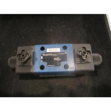 RexRoth Australia Italy Two-Way Directional Spool Valve - P/N: R900594948, Model: 4WE10D33