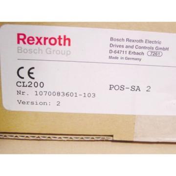 Rexroth India USA Profibus Master SPS CL 200 POS-SA2 Positionsbaugruppe >ungebraucht<