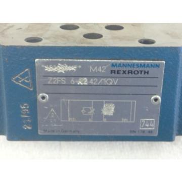 NEW! France Italy  REXROTH Z2FS-6-A2-42/1QV  HYD THROTTLE CHECK VALVE  FAST SHIP!!! (A139)