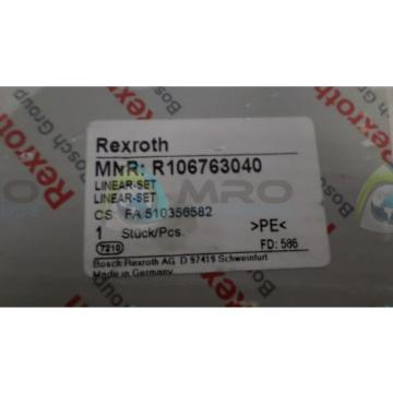 REXROTH Canada Russia R106763040 LINEAR SET *NEW IN BOX*