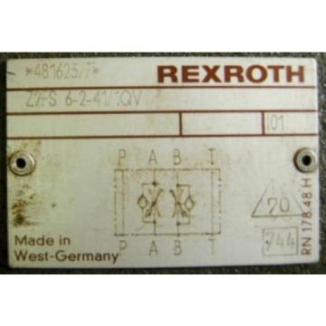 REXROTH Australia France DIRECTIONAL VALVE 4WE6JA51/AW120-60N9Z55L