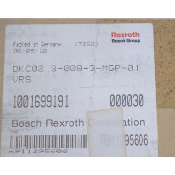 NEW Canada Greece REXROTH DKC02.3-008-3-MGP-01VRS SERVO DRIVE DKC0230083MGP01VRS