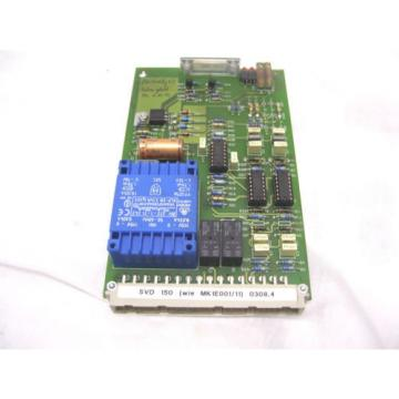 REXROTH Canada Germany BOSCH RESISTOR MODULE SVD150a 050203 MK1E001/11 0308.4  60 Day Warranty!