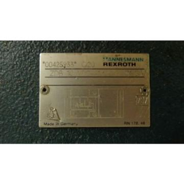 MANNESMANN China Canada REXROTH HYDRAULIC VALVE ZDB 10 VP2-41/200V (PT020)
