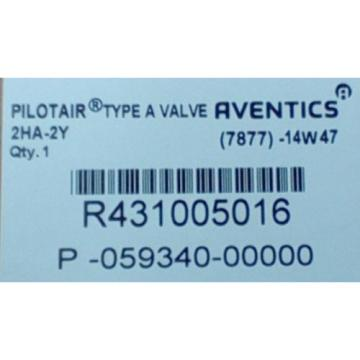 Rexroth Dutch Canada R431005016, 2-HA-2Y PILOTAIR VALVE FOUR-WAY P59340
