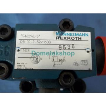 Mannesmann France Germany Rexroth DB 10-2-52/160B with TUV.SV.94-851.12.F.200.160 Hydraulic