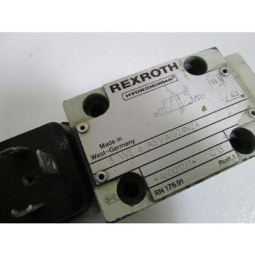 REXROTH Canada china VALVE 3 WE 6 A51/AG24NZ4  *USED*