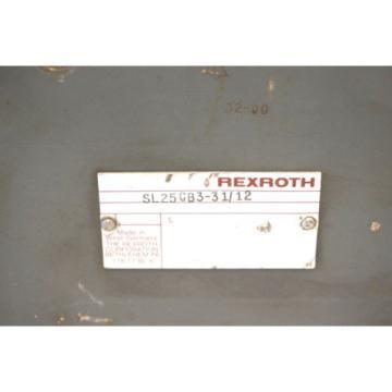 REXROTH Australia Italy SL25GB3-31/12 VALVE SL25GB33112