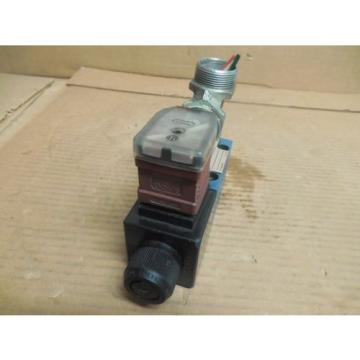 REXROTH France Japan SOLENOID VALVE 4WE6D60/EW110N9Z45 L/V RR00880057